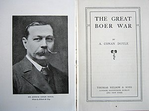 The Great Boer War - Title page from The Great Boer War