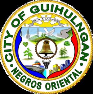 Guihulngan - Image: Guihulngan city seal