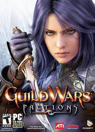 Guild Wars Factions - Image: Guild Factionsbox