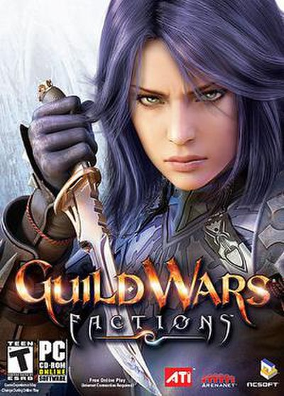 Picture of a game: Guild Wars Factions