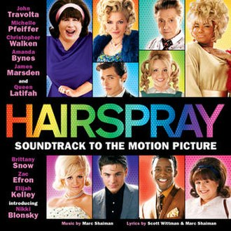 Hairspray (2007 soundtrack) - Image: Hairspray 2007soundtrack