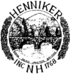 Official seal of Henniker, New Hampshire