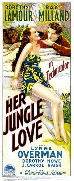 Her Jungle Love - Film poster