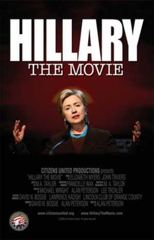 Hillary: The Movie - Theatrical release poster