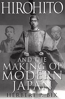 <i>Hirohito and the Making of Modern Japan</i> book by Herbert P. Bix