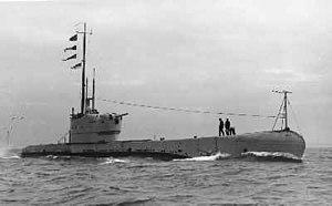 HMS Perseus (N36) - Image: Hms perseus submarine