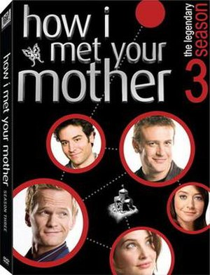 How I Met Your Mother (season 3) - Image: How I Met Your Mother Season 3 DVD Cover