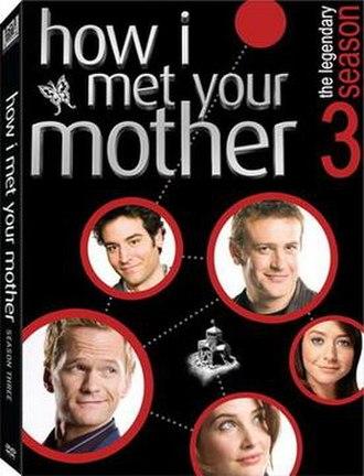 How I Met Your Mother (season 3) - The Legendary Season 3 DVD cover art