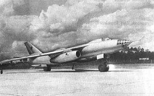 Ilyushin Il-54 - Three-quarter view of the second Il-54 prototype