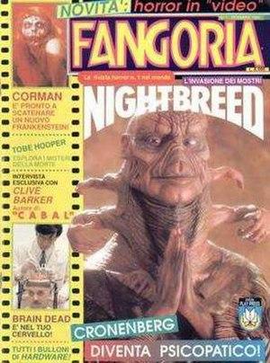 Fangoria - Fangoria Italy, Issue 1. 1990.