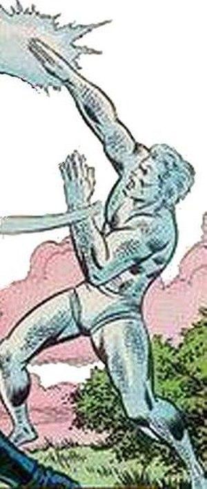 Jack Frost (Marvel Comics) - Image: Jack Frost Marvel