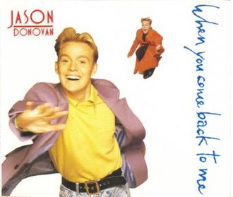 Jason Donovan — When You Come Back to Me (studio acapella)