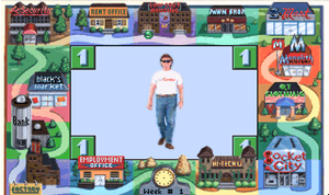 Jones in the Fast Lane - Screenshot from video game