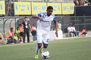 Joy Ferrao Indian footballer