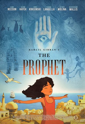 The Prophet (2014 film) - Theatrical release poster