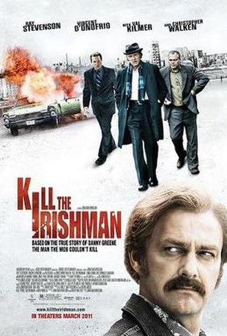 Kill the Irishman - Theatrical release poster