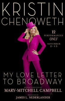 kristin chenoweth my love letter to broadway