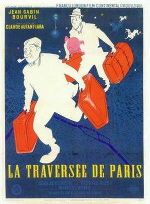 La Traversée de Paris (film) - Image: La Traversée de Paris poster
