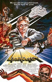<i>Laserblast</i> 1978 film by Michael Rae