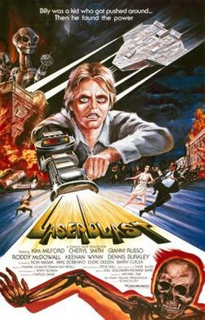 Laserblast - Theatrical release poster
