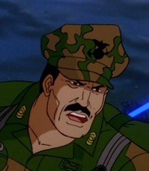 Leatherneck (G.I. Joe) - Leatherneck as seen in the Sunbow/Marvel G.I. Joe cartoon.