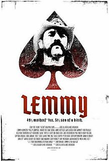 <i>Lemmy</i> (film) 2010 film directed by Wes Orshoski Greg Olliver