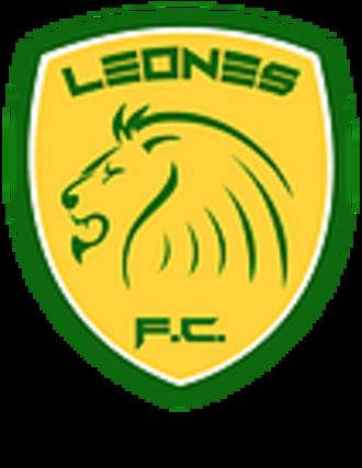 Leones F.C. - Image: Leones FC logo