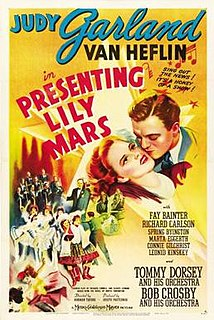 <i>Presenting Lily Mars</i> 1943 film by Norman Taurog