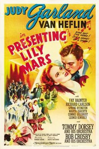 Presenting Lily Mars - Theatrical release poster