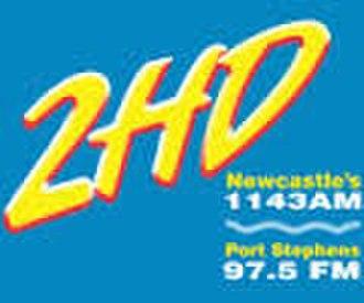 2HD - Image: Logo of radio 2HD Newcastle