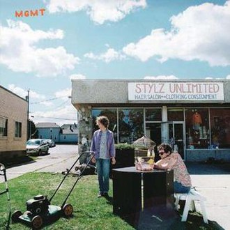 MGMT (album) - Image: MGMT Cover Art