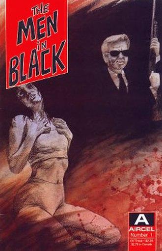 The Men in Black (comics) - Image: MI Bseries 1