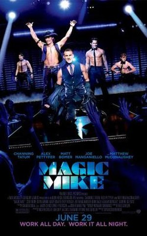 Magic Mike - Theatrical release poster