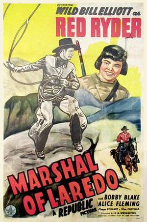 Marshal of Laredo - Film Poster for Marshal of Laredo (1945)