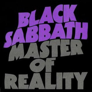 Master of Reality - Re-released non-embossed cover