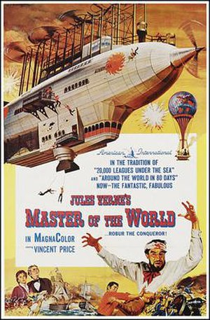Master of the World (1961 film) - Theatrical release poster
