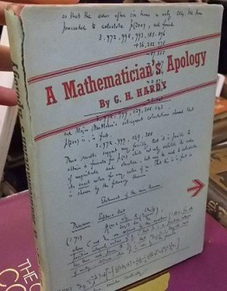 A Mathematician's Apology - First edition (publ. Cambridge University Press)