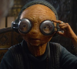 Maz Kanata Star Wars character