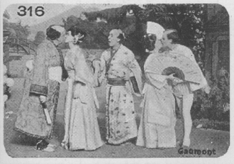 """Chronophone - Chronophone was showing Phonoscène like this one, """"On a tree by a river"""" from The Mikado"""