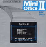 Box cover of Mini Office II for the BBC Micro