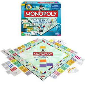 Monopoly: The Mega Edition - Image: Monopoly The Mega Edition Current Package Display