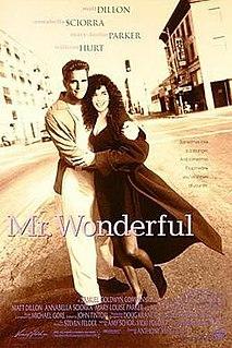 <i>Mr. Wonderful</i> (film) 1993 film by Anthony Minghella