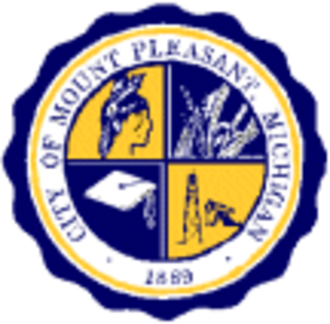 Mount Pleasant, Michigan - Image: Mt Pleasant Michigan Seal