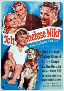 <i>My Name is Niki</i> 1952 German film by Rudolf Jugert