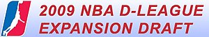 2009 NBA Development League Expansion Draft - Image: NBA Development League Expansion Draft 2009