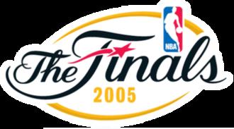 2005 NBA Finals - Image: NBA Finals 05