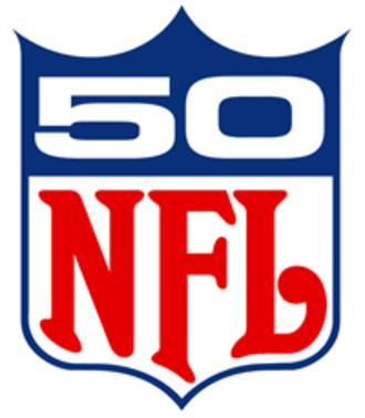 1969 NFL season - NFL 50th season anniversary logo