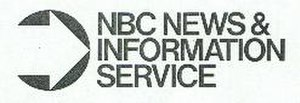 "NBC Red Network - NBC ""News and Information Service"" logo"