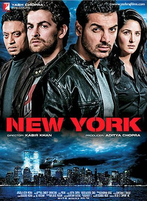 New York (film) - Theatrical release poster
