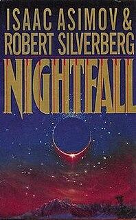 <i>Nightfall</i> (Asimov novelette and novel) 1941 short story by Isaac Asimov